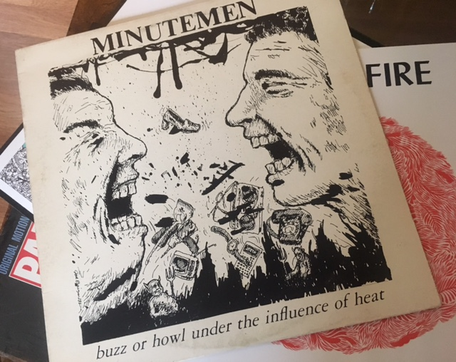 Listen Along: Buzz or Howl Under the Influence of Heat by Minutemen